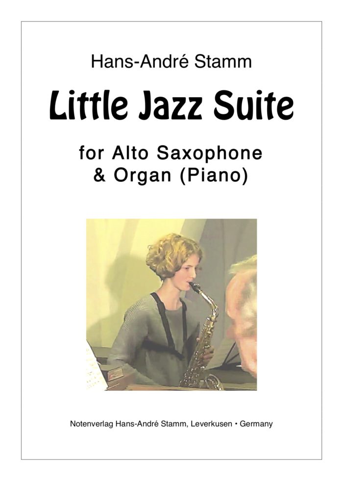 Little Jazz Suite für Saxophon & Orgel (Klavier)